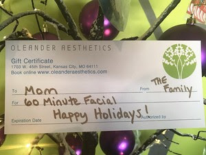 Holiday Spa Gifts
